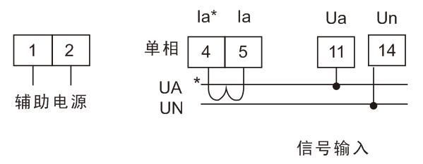 bam4p-9x1单相有功功率表