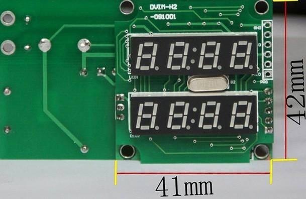 表内部结构正面见图2,侧面见图3.如不需外壳,请订购时说明 XL2L30AC数字显示电压电流表,是双显微型精密仪表。测量精度高,不同于传统的3位半、4位半数字仪表,同时测量负载的电压、电流,量程从15mA到50A自动切换,超量程后闪烁报警。 XL2L30AC电压电流双显表头采用LED高亮显示,夜间和白天强光下均清晰可读。电流测量采用CT感应,安全可靠。 量程:AC180.