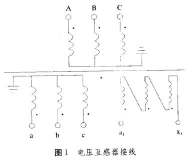 电压互感器接线