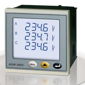 KDW-300V智能型三相交流电压表