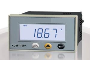 KDW-100A液晶单相交流电流表